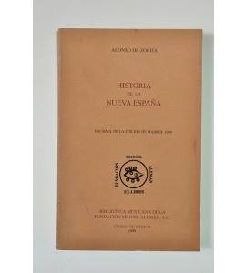 Historia de la Nueva España (ABAJO CH)