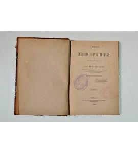 Curso de Derecho Constitucional y Administrativo