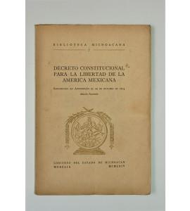 Decreto Constitucional para la libertad de la América Mexicana