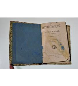 La Constitución de 1857. Las leyes de reforma en México