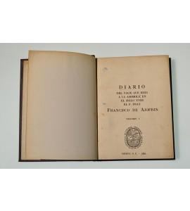 Diario del viaje que hizo a la América en el siglo XVIII el P. Fray Francisco de Ajofrin *