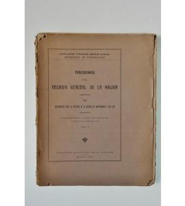 Documentos para la historia de la Guerra de Independencia 1810-1821