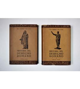 Historia del derecho romano *