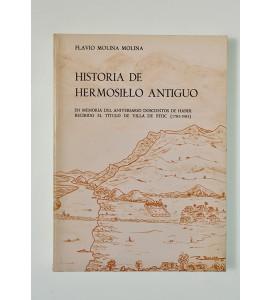 Historia de Hermosillo antiguo