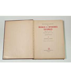 Repertorio de muebles e interiores españoles (siglos XV a XVIII)*