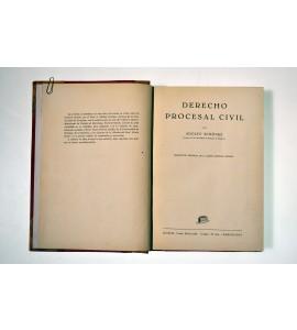 Derecho procesal civil *