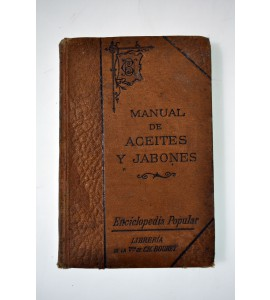 Manual de aceies y jabones