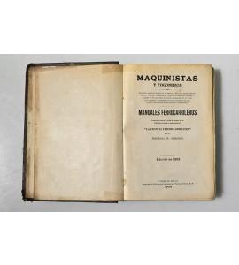 Maquinistas y fogoneros. Manuales ferrocarrileros.