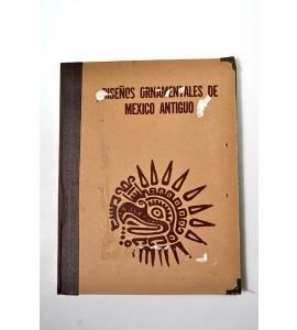Diseños ornamentales de México Antiguo