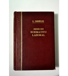 Derecho normativo laboral