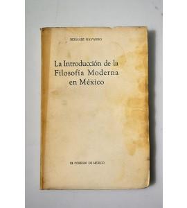 La introducción de la filosofía moderna en México