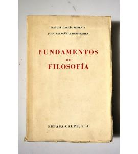 Fundamentos de Filosofía e Historia de los sistemas filosóficos