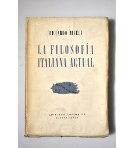 La filosofía italiana actual