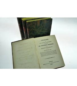 Coleccion de las leyes y decretos expedidos por el Congreso General de los Estados-Unidos Mejicanos, en los años de 1829 y 1830. 4 Tomos.